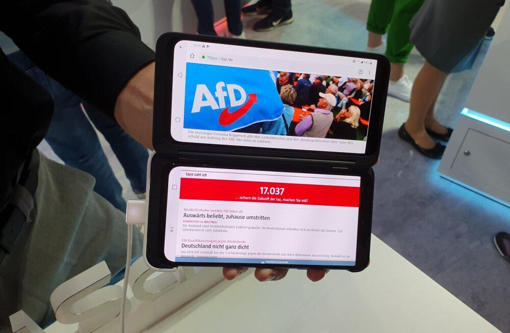 FORTE BERLIINIS | LG usub, et telefonide tulevik peitub topeltekraanides