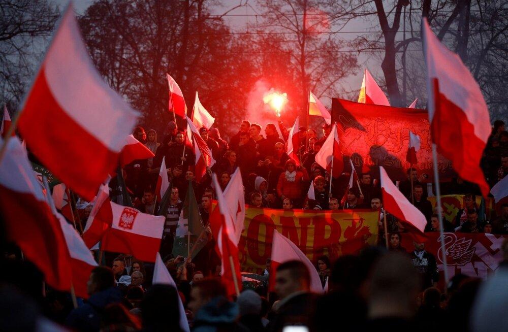 Kohus tühistas Varssavi linnapea otsuse keelata Poola rahvuslaste iseseisvuspäeva marss