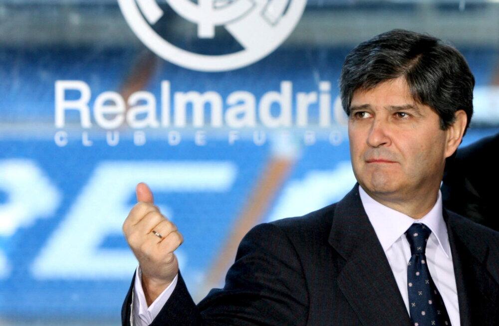 Juba teine Madridi Reali endine juht viidi koroonaviiruse tõttu tõsises seisundis haiglasse