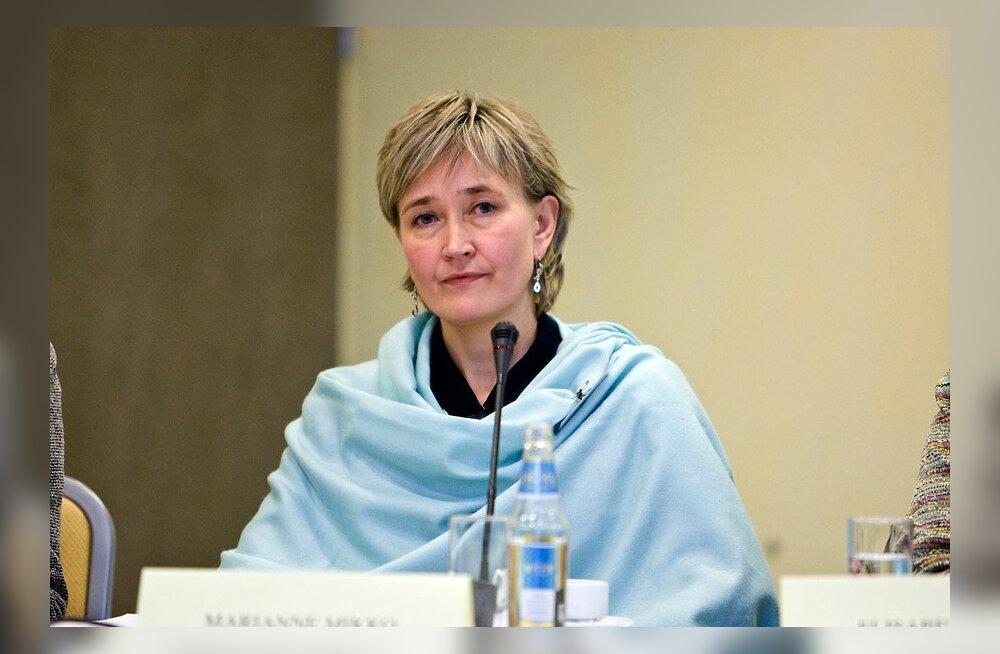 SOTSID VALIVAD JUHTI: Marianne Mikko: Tegutsen tasakaalu ja ühtsuse nimel