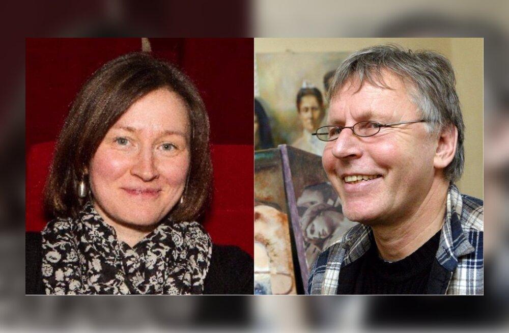 Palju õnne! Katrin Maimik abiellus endast 35 aastat vanema kunstniku Enn Tegovaga