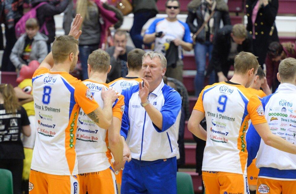Selver vs Pärnu võrkpall