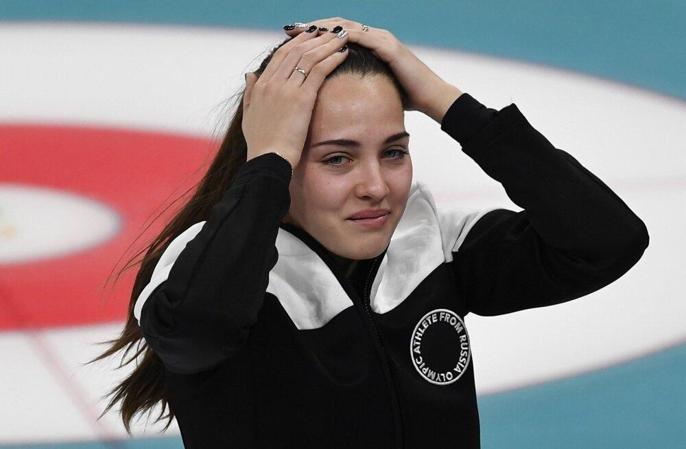 Venemaa curlingumängija Anastassia Brõzgalova