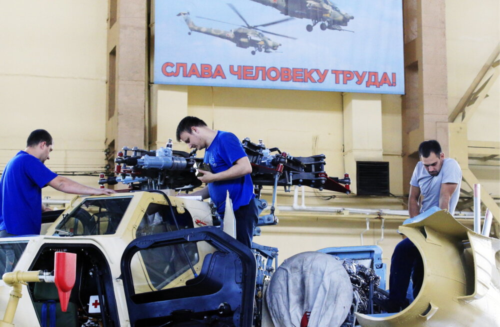 Venemaa tööstusel hakkab hoog vähenema - tarbijaid napib