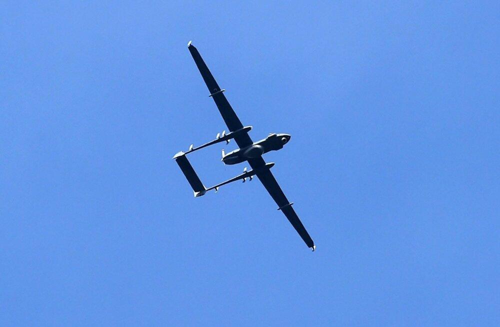 Hiina väitel tungis India droon tema õhuruumi, kus kukkus alla