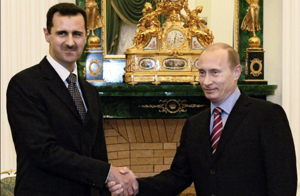 AFP: Assad kinnitas Putinile valmidust pidada vaherahust kinni