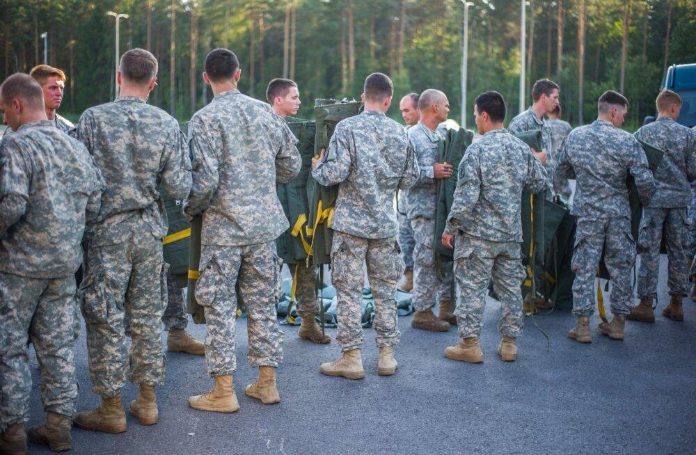 Очевидец: солдат НАТО напал в таллиннском спа-центре на работников и посетителей