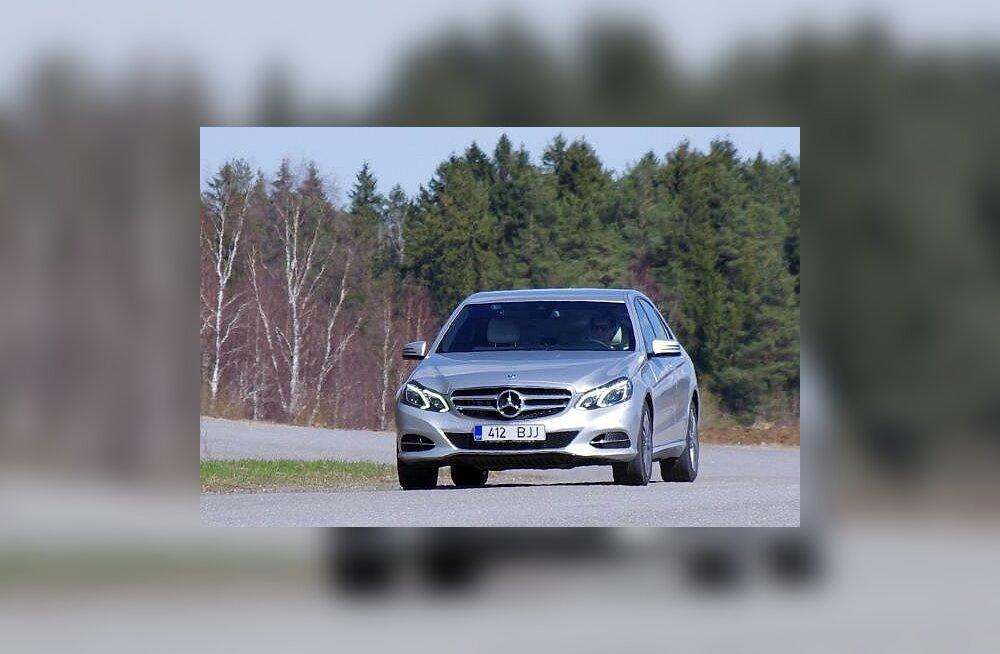 Mercedes-Benz E: elektroonika ja soliidsus