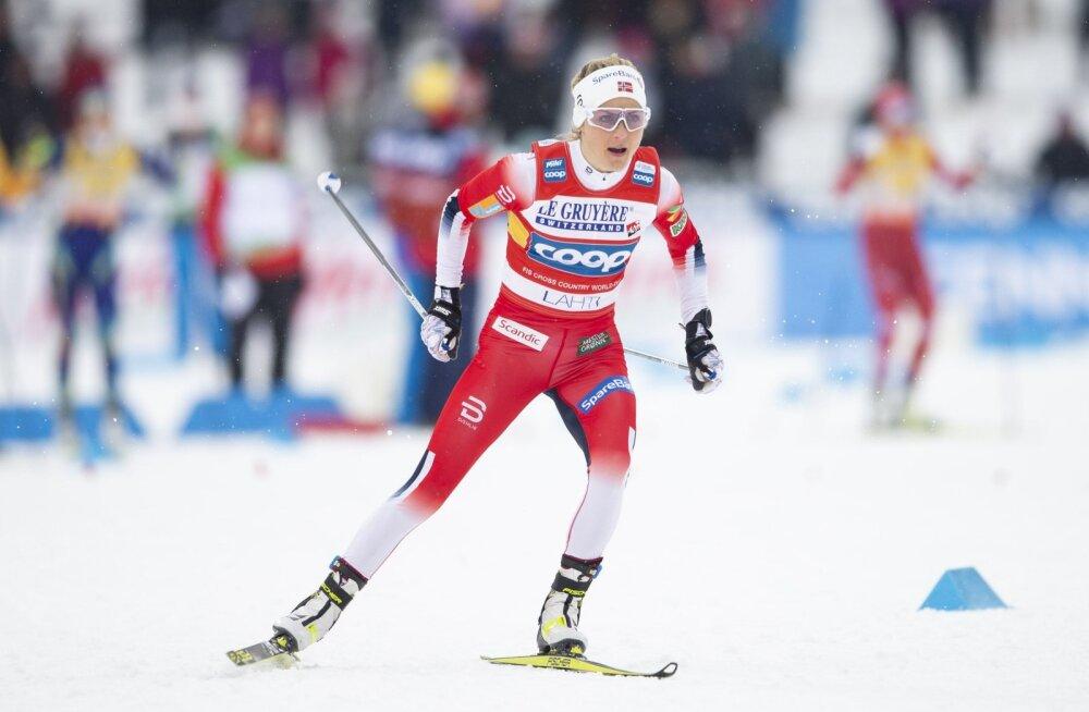 Therese Johaug saatuslikust veast: oleksin pidanud täna võitma