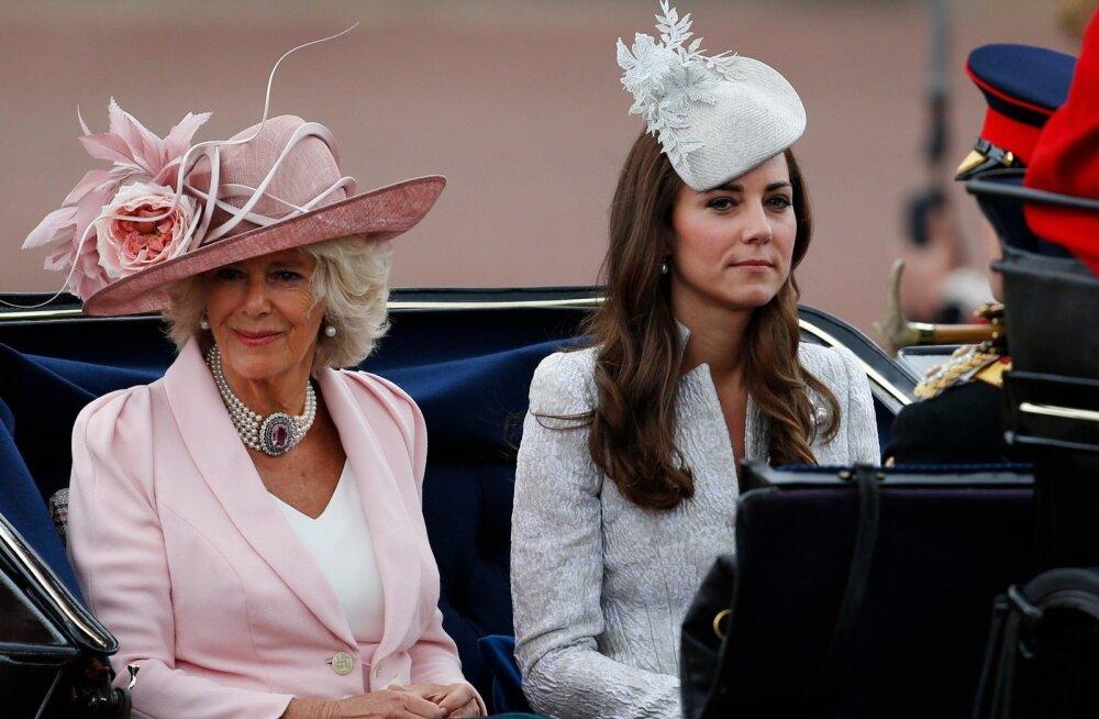 Camilla Parker Bowles ja Kate Middleton