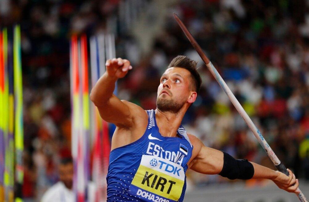 Magnus Kirt tunnistab, et kõigest hoolimata on ta MMi-l võidetud hõbemedali üle väga õnnelik.