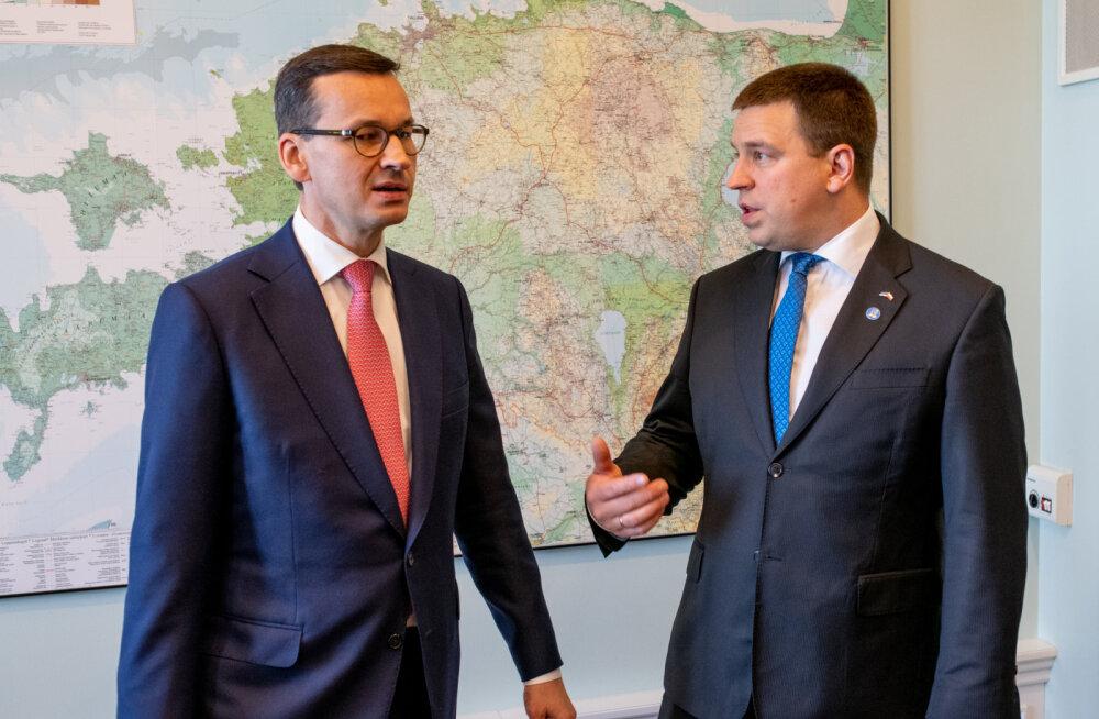 Ратас на встрече с премьером Польши: объединение балтийских электросетей с Европой — важный вопрос