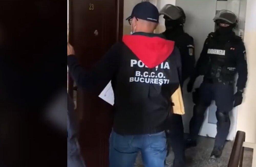 Rumeenia pätid kandsid Eesti e-riigi nõrkused kandikul ette - video vahistamisest