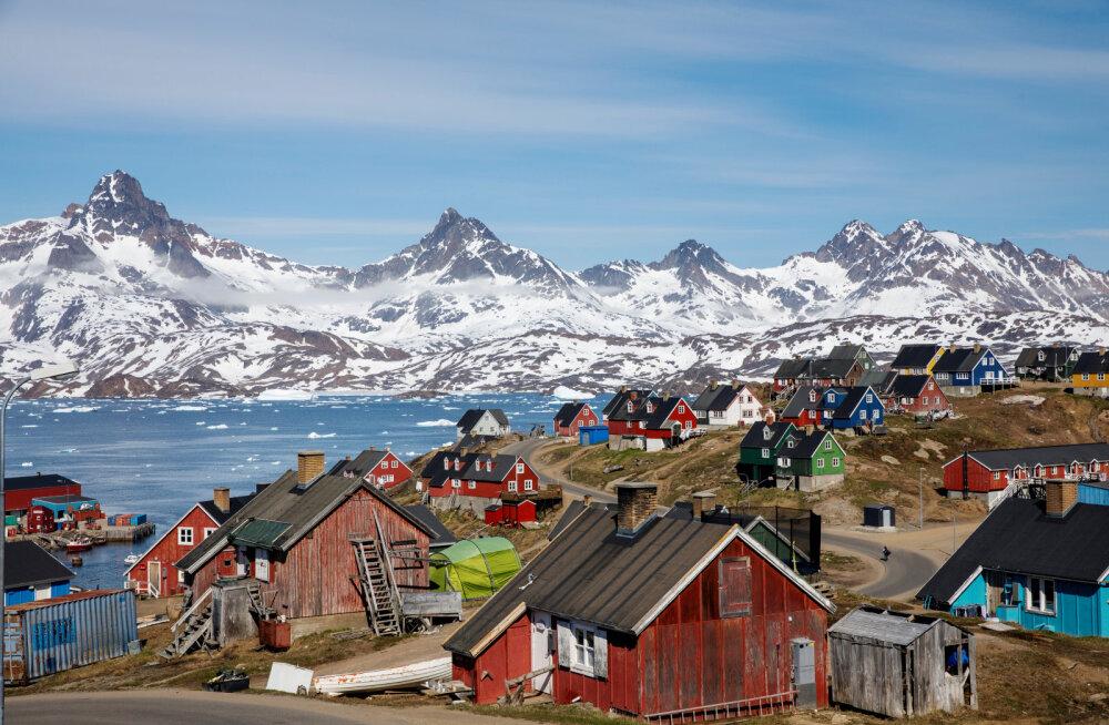 Liustikujää sulamine avab Gröönimaal võimalused maailmas defitsiitse liiva ja kruusa kaevandamiseks