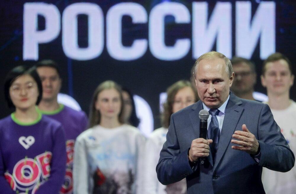 Vladimir Putin sai Venemaa olümpiakeelu peale pahaseks