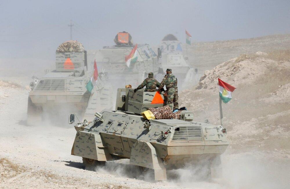 Suur lahing Mosuli linna all - ehk kurdid hoitakse seni viisakas kauguses