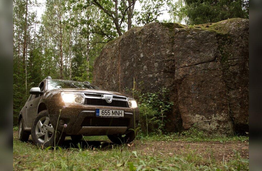 Eestimaa kivide kuningas ja auto.
