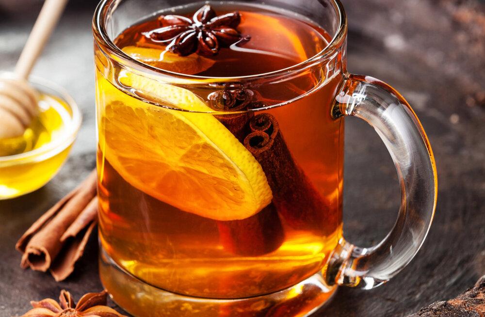 """Sügisene """"võlutee"""" - mõnus ja tervislik jook külmetushaiguste raviks ja profülaktikaks"""