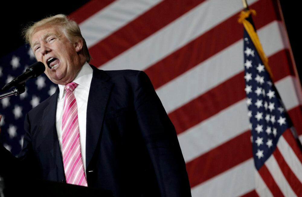 Donald Trump oli miinusmiljardär