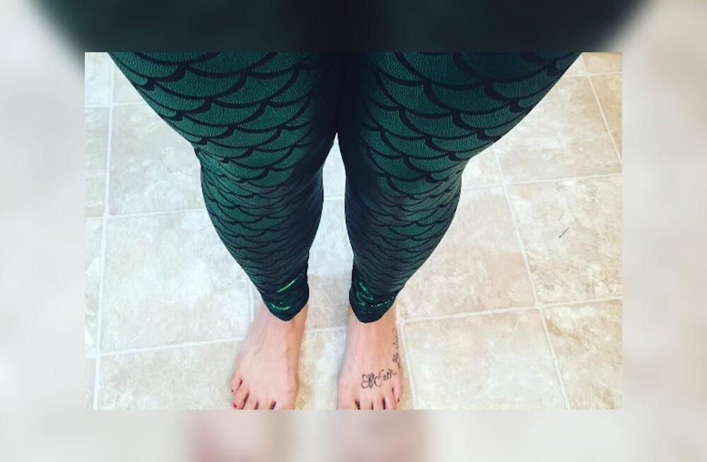 KURVIKAD FOTOD: Instagramis levib kulutulena uus positiivne kehatrend #mermaidthighs