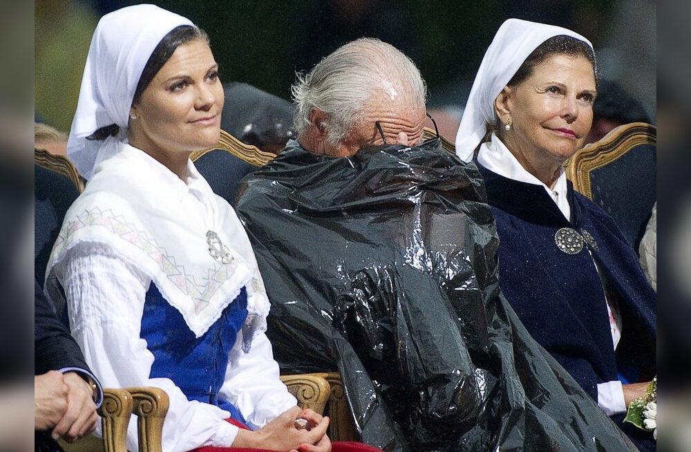 FOTOD: Kroonprintsess Victoria säras oma sünnipäeval kohutava ilma kiuste!