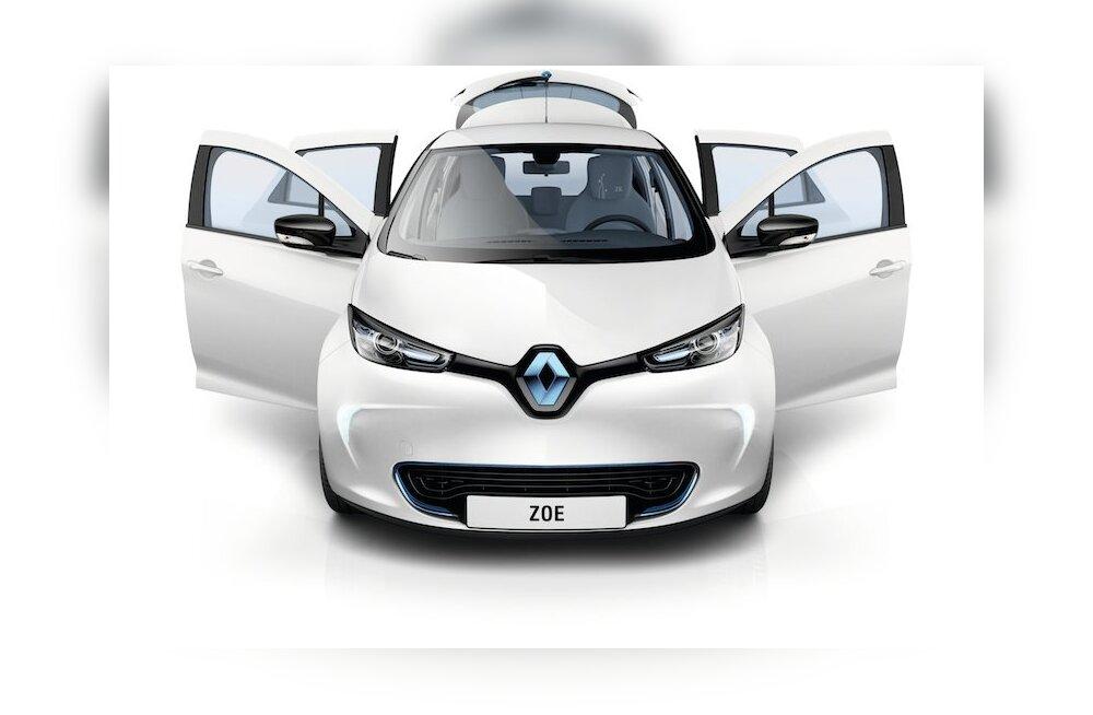 Elektriautode proovisõidud: Renault Zoe versus Volkswagen e-up!