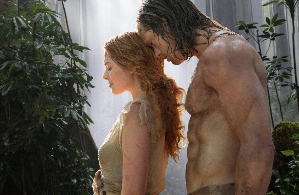 """Seiklusfilmi """"Tarzani legend"""" ainetel: kas Tarzani tegelaskuju põhineb tõsielul?"""