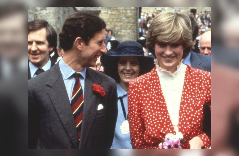 VAATA ajaloolist videot, kus prints Charles alandab Dianat