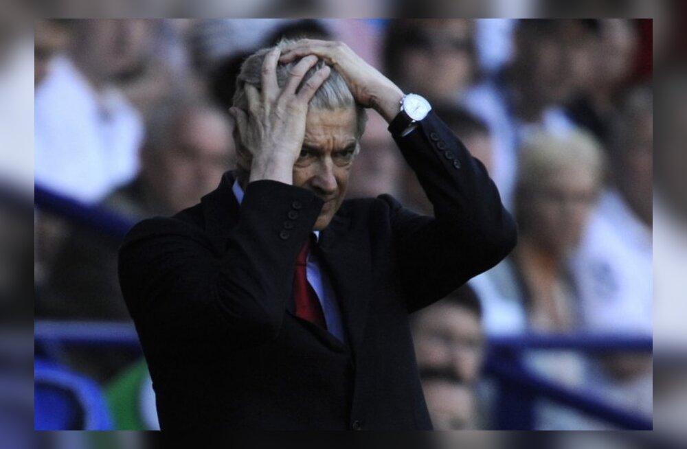 UEFA karistab kohtunikku kritiseerinud Arsene Wengerit
