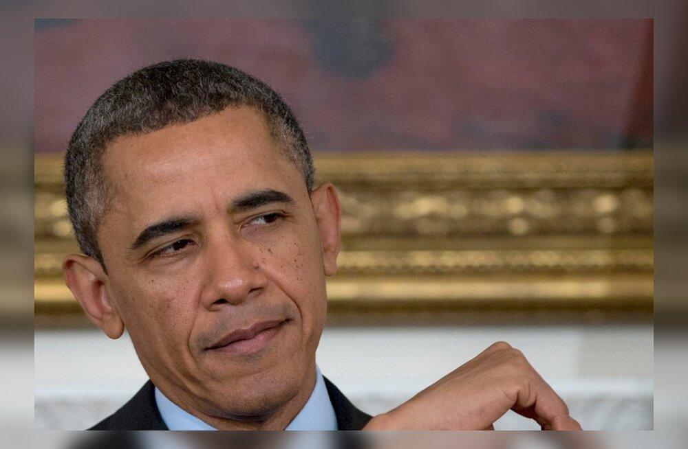 USA presidendi sõnul on ta vaaginud sõjalist sekkumist Süürias