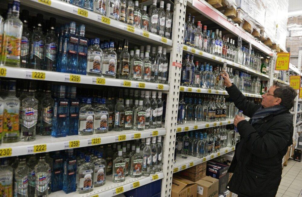 Moskva alkoholipood.