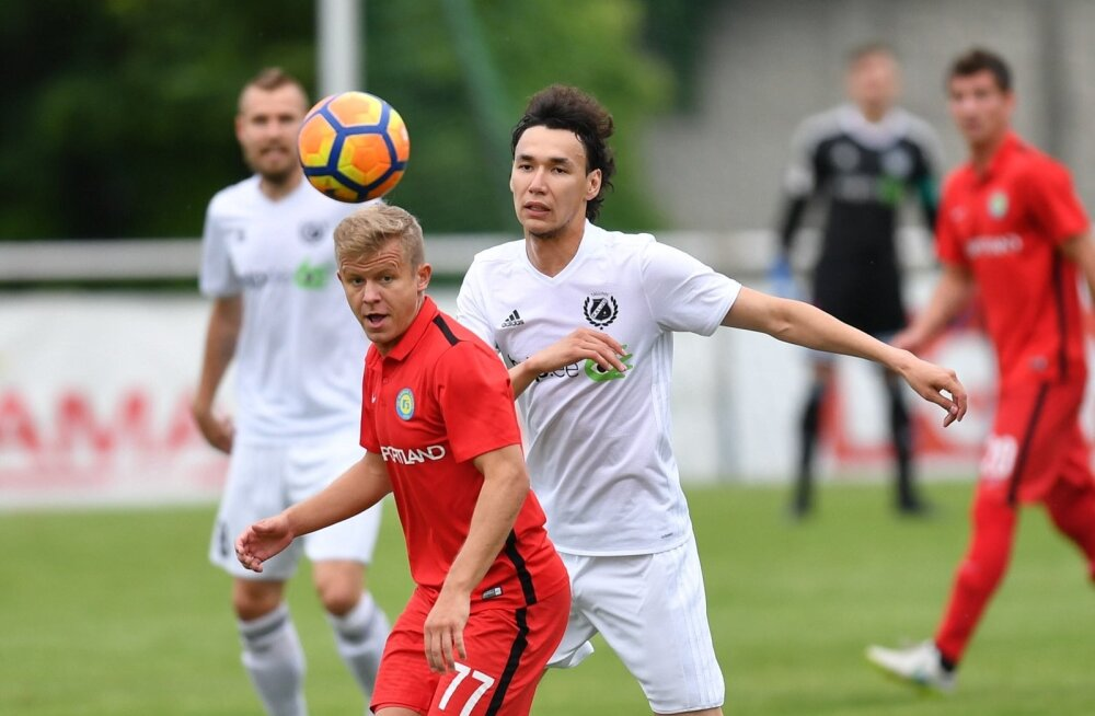 jalgpall Narva Trans vs Nomme Kalju 1.08.2017