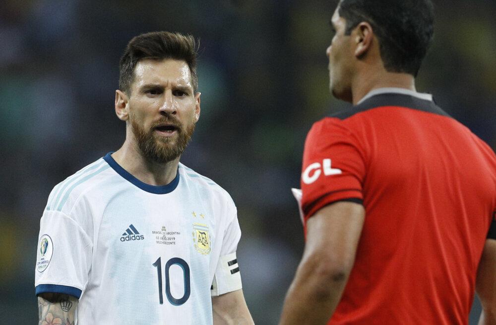 Vihane Messi lajatas: Brasiilia polnud meist parem ja kohtunike otsused olid s*tad