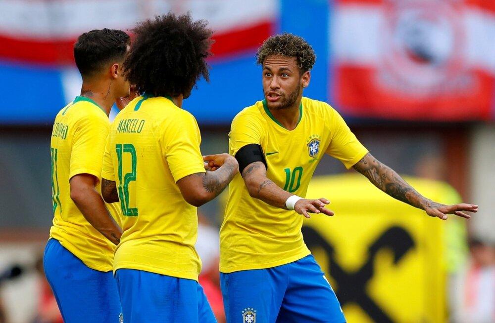 Brasiilia läheb Venemaal peetavale MM-ile vastu suurima soosikuna. Meeskonna liidriks on loomulikult Neymar.