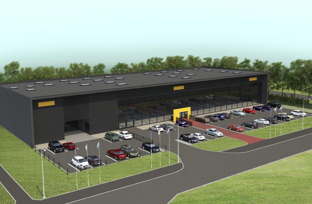ФОТО | Под Таллинном появится новый центр продажи и обслуживания Opel