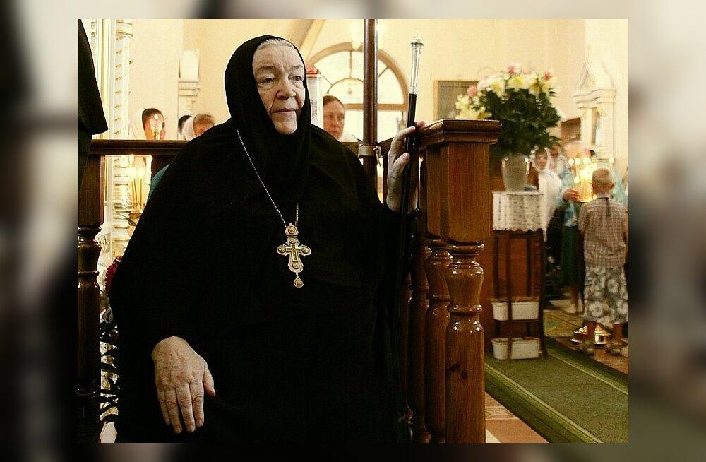 Täna varahommikul suri Kuremäe nunnakloostri iguumenja Varvara