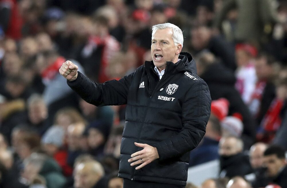 VIDEO   Liverpooli kukutanud West Bromwichi peatreener: videokohtunikusüsteem põhjustas kahel mu mängijal reielihase vigastuse