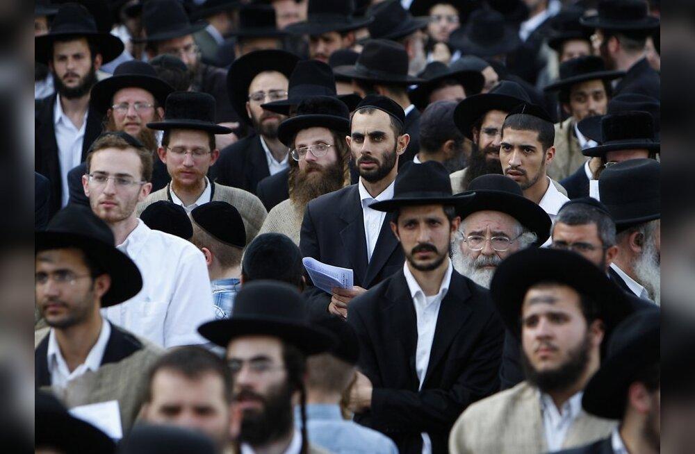 Ortodoksed juudid Jeruusalemmas