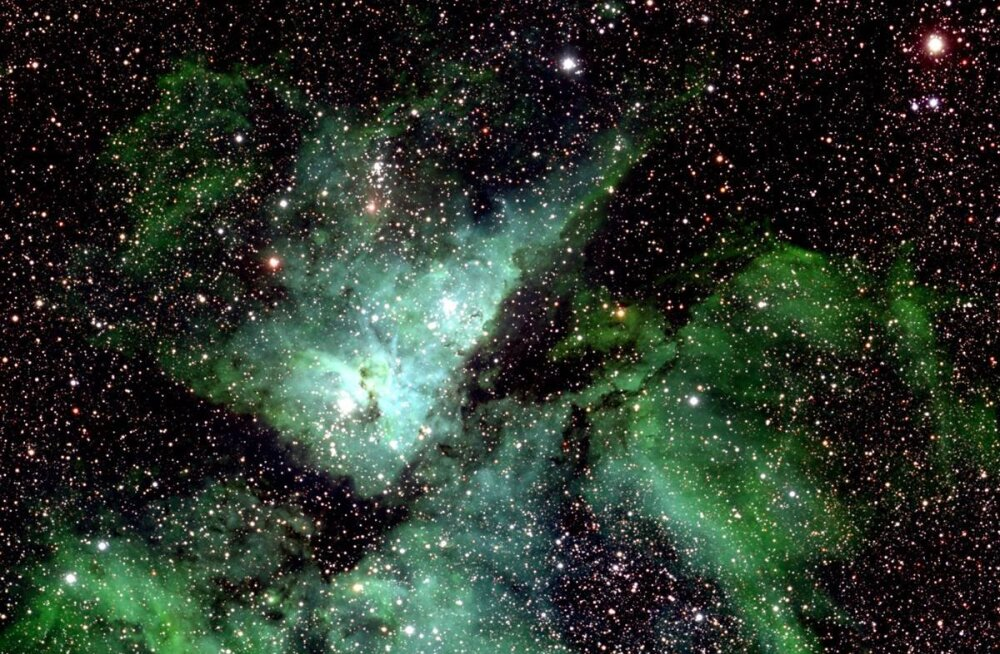 46 gigapikslit ebamaist ilu: see on suurim inimeste loodud kosmosekaart
