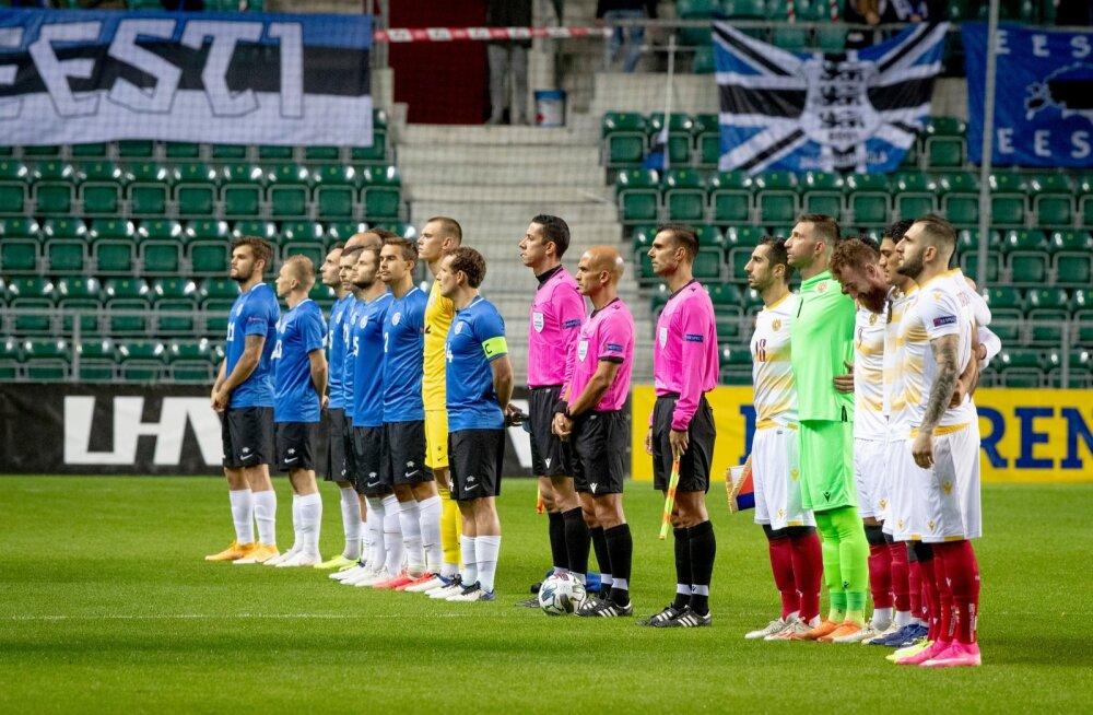 Rahvuste Liiga Eesti vs Armeenia