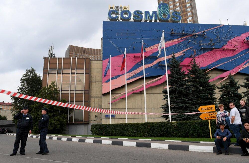 Moskvat tabas pommiähvarduste laine. Pooleli jäi ka maleturniir, kus osaleb Kaido Külaots