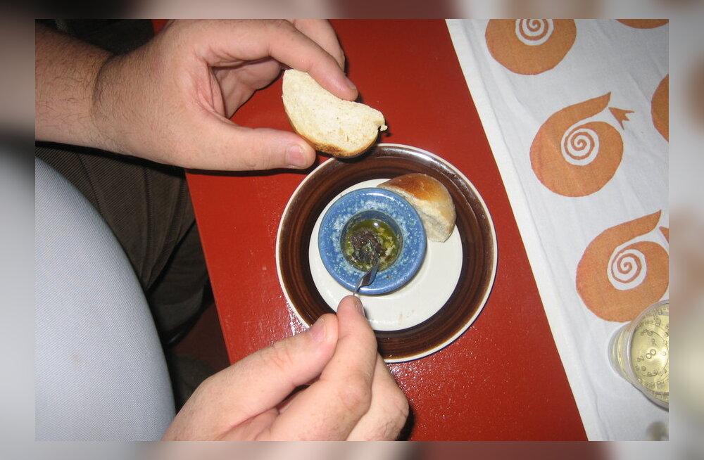 Reisikiri: süüa selleks, et elada või elada selleks, et süüa
