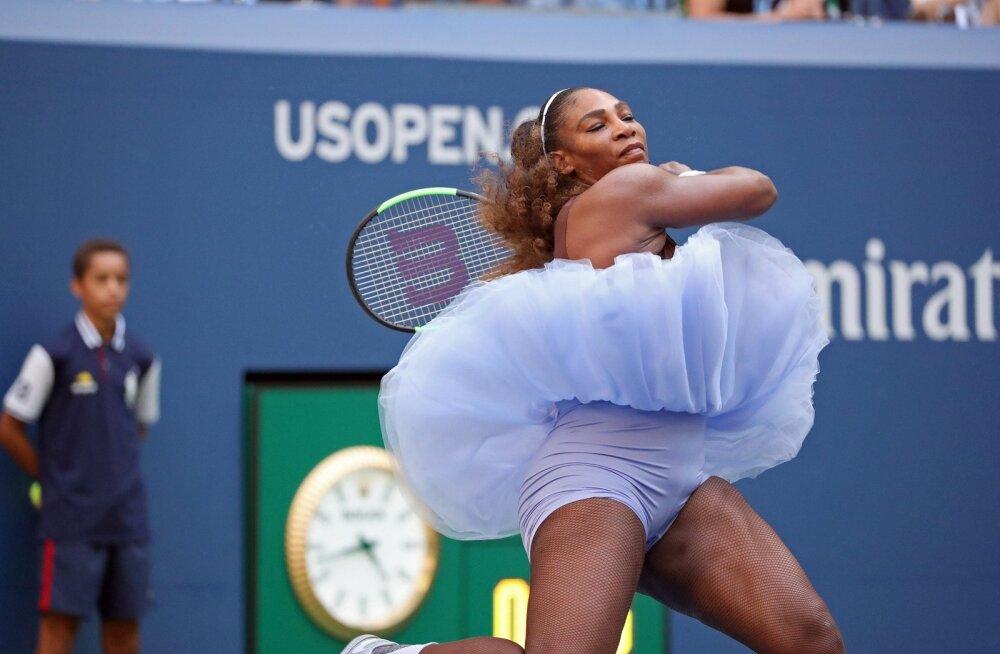 Serena Williams kohtumises Kaia Kanepi vastu.