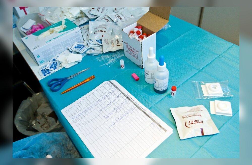 Eestis diagnoositi mullu HI-viirus 369 inimesel