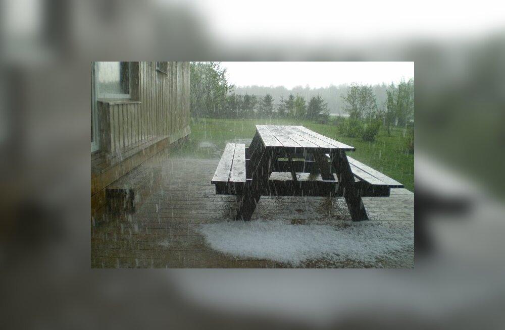 FOTOD: Läänemaal Ristil hakkas ootamatult rahet sadama