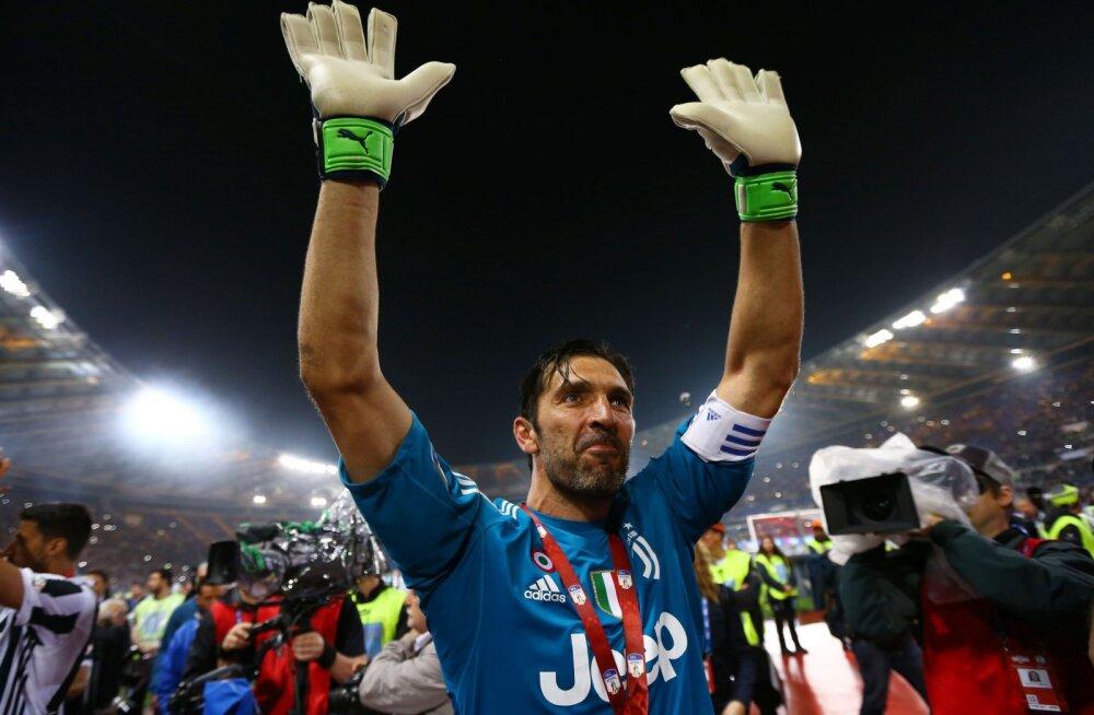 Buffon jätab laupäeval Juventusega hüvasti