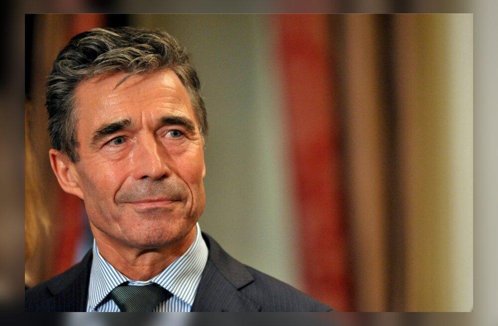 Rasmussen: mul on väga hea nägemine, aga ma ei näe ikka mingit Vene vägede tagasitõmbamist