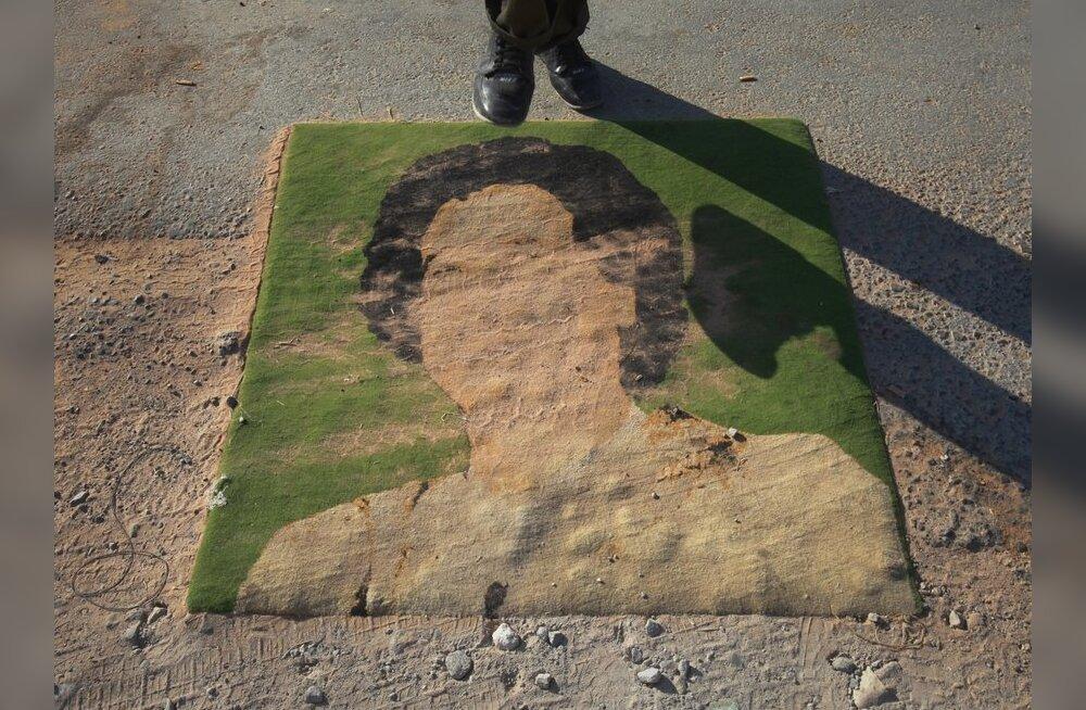 Liibüa liider Gaddafi