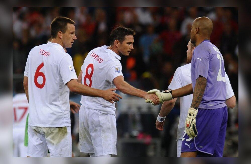 Terry ja Lampard, Inglismaa koondis
