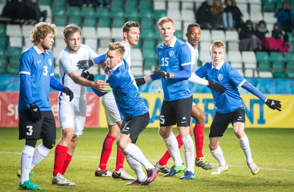 34095a3acb2 Eesti U23 jalgpallikoondis võõrustab täna õhtul Inglismaa C-koondist ...